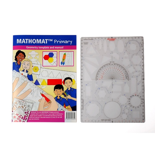 Mathomat Template, Stencil Primary Wallet With Illustrated Student Manual - H41 102 00051