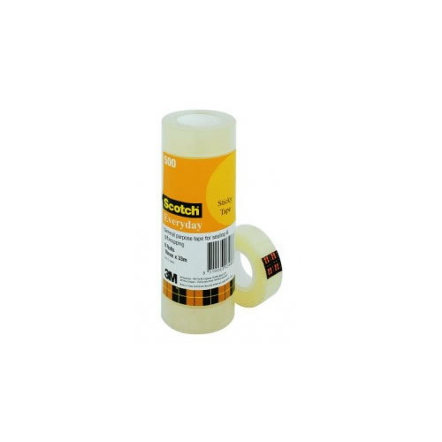 Scotch Everyday Tape 500 18mmx33m 8 Pack