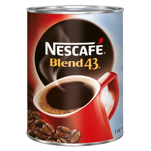 Nestles Nescafe Blend Coffee Can 1Kg