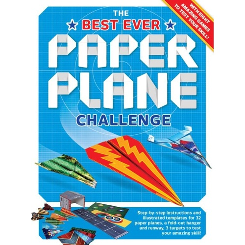 The Best Ever Paper Plane Challenge Paperback Book