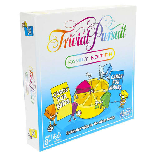 Hasbro Trivial Pursuit Family Edition Refresh Board Game NEW