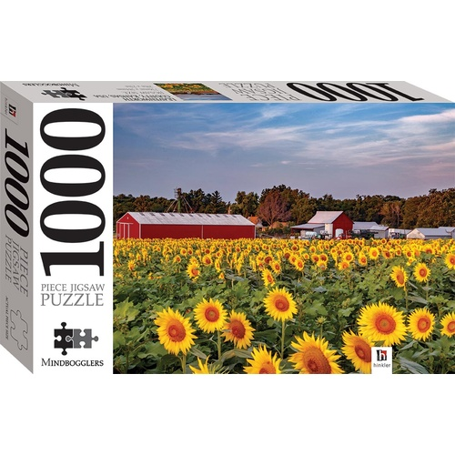 Hinkler Jigsaw Puzzle 1000 Piece Large 736mm x 584mm - Rosedale Kansas Usa