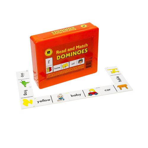 Ed.Vantage Learning Can Be Fun Dominoes - Read And Match