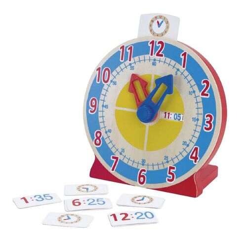 Melissa & Doug Kids Turn And Tell Clock