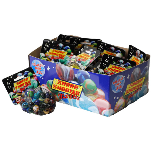 1 X Bag of Marbles 350g Great Toy For Kids - Assorted