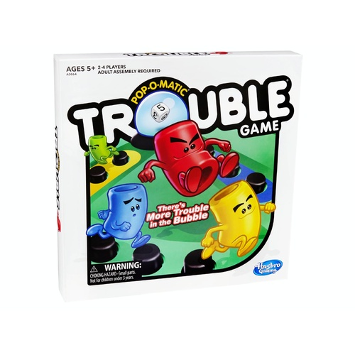 Hasbro Pop-O-Matic Trouble Board Game