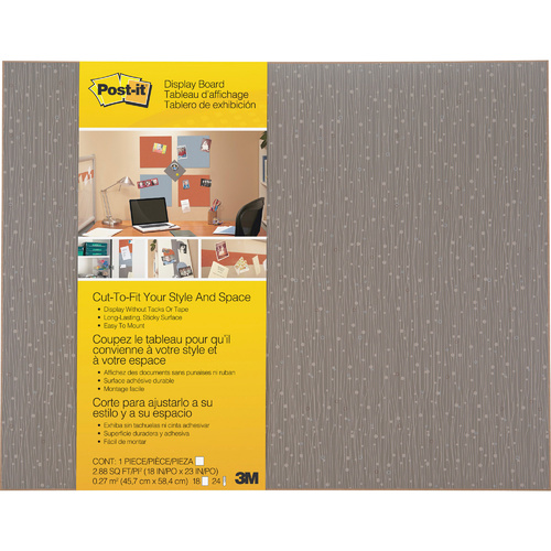 Post IT Memo Board Photo Board Cut to Fit 45.7x58.4cm - Mocha