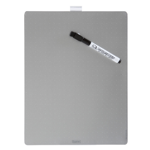 Quartet Magnetic Whiteboard Tile 216x280mm - Silver